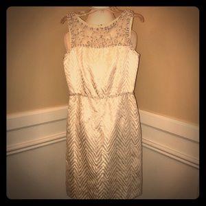 Antonio Melani White Sheath Dress Size 2